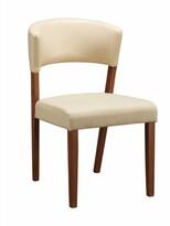 Bronx Meltzer Ladder Back Side Chair Ivy Upholstery Color: Cream
