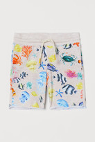 H&M Printed sweatshirt shorts