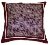 Fendi Logo Silk Pillow