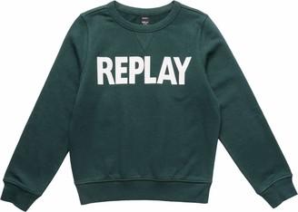 Replay Boy's Sb2026.010.22739 Sweatshirt