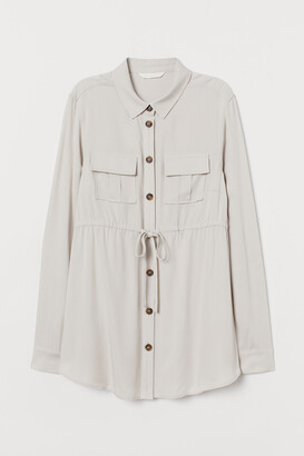 H&M MAMA Utility shirt