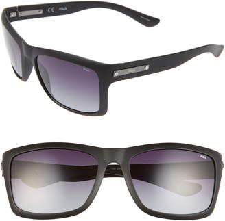Fila 59mm Polarized Square Sunglasses