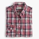 J.Crew Slim Secret Wash shirt in classic red plaid