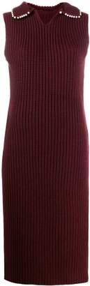 Loewe Chunky Knit Cashmere Midi Dress