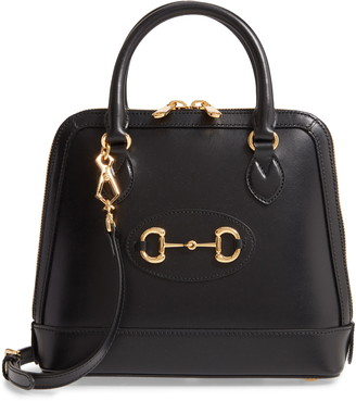Gucci Small 1955 Horsebit Leather Satchel
