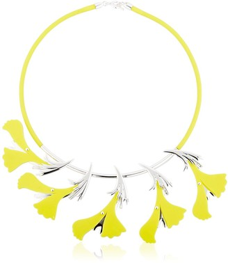 Ek Thongprasert Silicone Flower Necklace