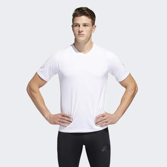 adidas Alphaskin Sport 3-Stripes Tee