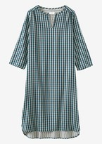 Toast Check Double Faced Nightie