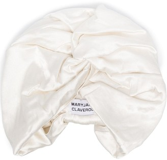 MaryJane Claverol Satin Turban