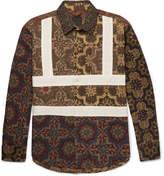 Craig Green Panelled Printed Cotton Shirt