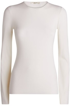 The Row Tumelo Wool-Cashmere Sweater