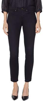 NYDJ Ami Embroidered Skinny Jeans in Dawner