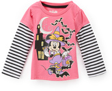 Children's Apparel Network Minnie Mouse Witch Layered Tee - Toddler