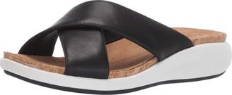 Clarks Women's Un Bali Go Slide Sandal