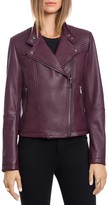 Bagatelle. city Lamb Leather Quilted Moto Jacket
