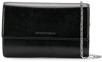 Emporio Armani Chain-Link Strap Crossbody Bag