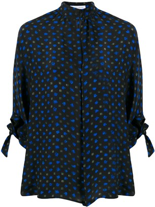 Christian Wijnants Abstract Print Blouse