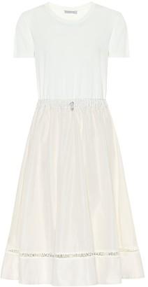 Moncler Toggle-trimmed midi dress