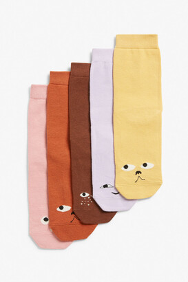 Monki 5-pack socks