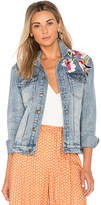 MinkPink Blossom Patch Jacket. - size M (also in S,XS)