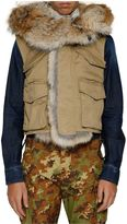 DSQUARED2 Coyote Fur Gilet