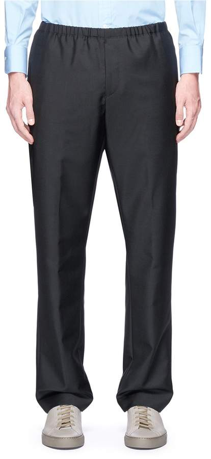 Acne Studios 'Ari' wool-mohair jogging pants