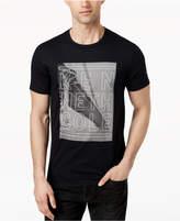 Kenneth Cole New York Men's Bridge Logo-Print T-Shirt