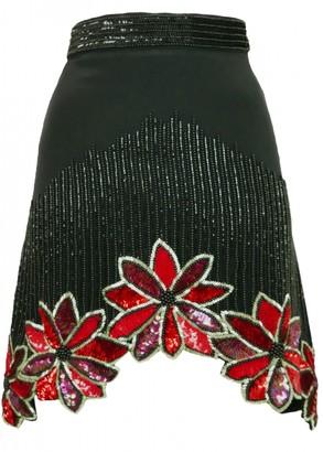 Rodarte Black Silk Skirt for Women