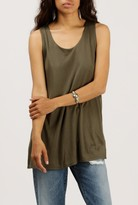 Azalea Sleeveless Double Layer Tank