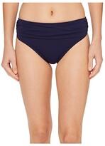 Tommy Bahama Pearl High-Waist Hipster Bikini Bottom (Mare Navy) Women's Swimwear