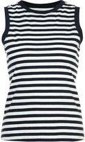 Derek Lam 10 Crosby striped print tank top - women - Cotton - XS