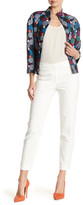 Anne Klein Cotton Double Weave Pant