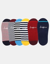 Invisible Socks 6 Pack