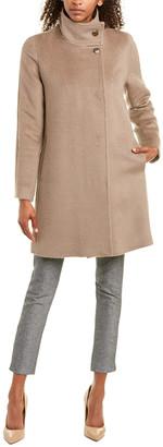 Cole Haan Suri Alpaca & Wool-Blend Coat