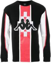Marcelo Burlon County of Milan Kappa print sweatshirt