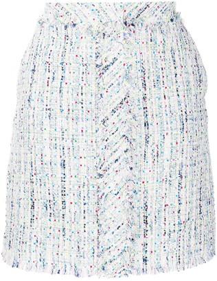 Karl Lagerfeld Paris Boucle Midi Skirt