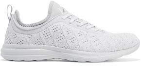 APL Athletic Propulsion Labs Techloom Phantom Neoprene-trimmed Jacquard-knit Sneakers