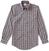 Brooks Brothers Regent-Fit Plaid Long-Sleeve Woven Shirt