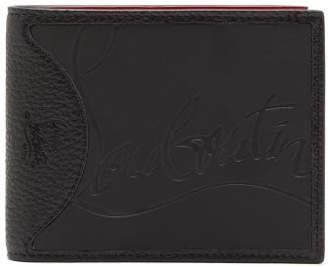 Christian Louboutin Coolcard Leather Bi Fold Wallet - Mens - Black