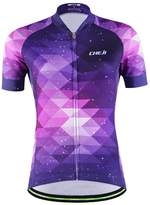 Top Top Fashion Women's New Short Sleeve Cycling Jersey Breathable Outdoor Sports Shirt Bicycle Clothes (M, Sky Purple)