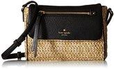 Kate Spade Cobble Hill Straw Mini Toddy Cross-Body Bag