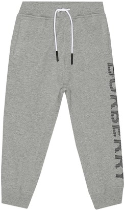 Burberry Logo cotton-jersey trackpants