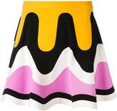 Emilio Pucci wave print skirt - women - Nylon/Spandex/Elastane/Viscose - 40
