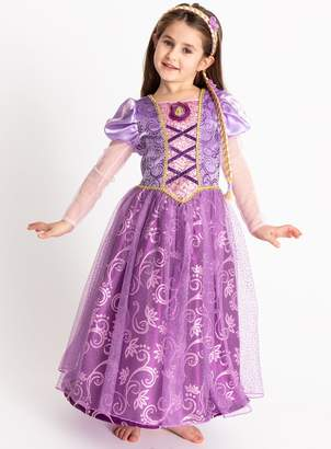 Tu Disney Princess Rapunzel Lilac Costume