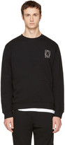McQ by Alexander McQueen Black Glyph Logo Sweatshirt