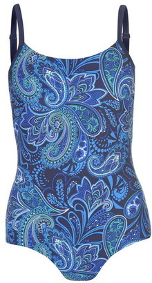 Zoggs Boho H Back Swimsuit Ladies