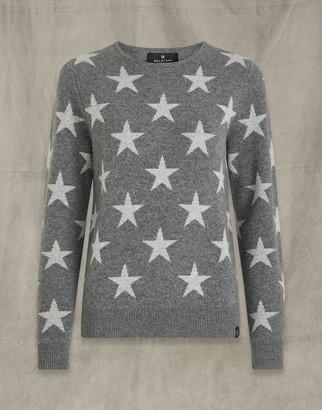 Belstaff STAR CREWNECK Grey