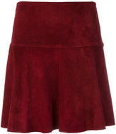 Stouls suede mini skirt