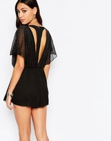 Pepe Jeans Cut Out Back Romper