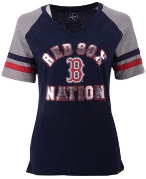 '47 Women's Boston Red Sox Local Phrase Pavilion T-Shirt